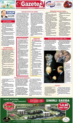 Ali Çetinkaya… / 26 Şubat 2019 Takip Köşe Yazısı
