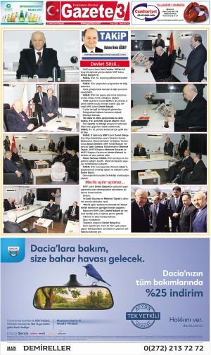 Devlet Sözü… / 21 Mart Takip Köşe Yazısı