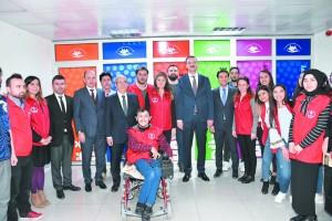 Gençlik ve Spor Bakan yardımcısı Afyon'da incelemelerde bulundu