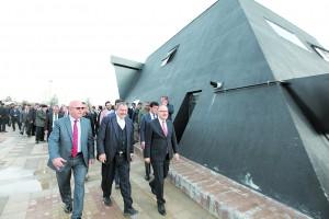 Veysel Eroğlu Parkı açıldı