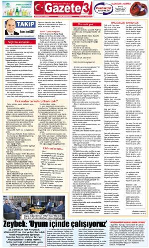 Seçimin ardından… / 26 Haziran 2019 Takip Köşe Yazısı