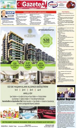 Ankara semaları yankılandı… / 2 Temmuz 2019 Takip Köşe Yazısı