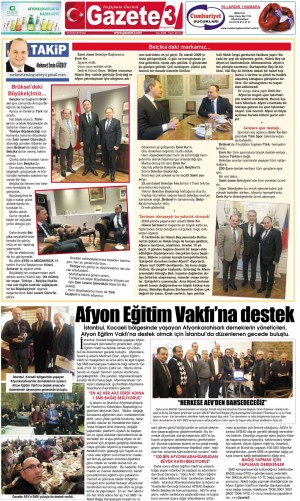 Brüksel'deki Büyükelçimiz… / 29 Ocak Takip Köşe Yazısı